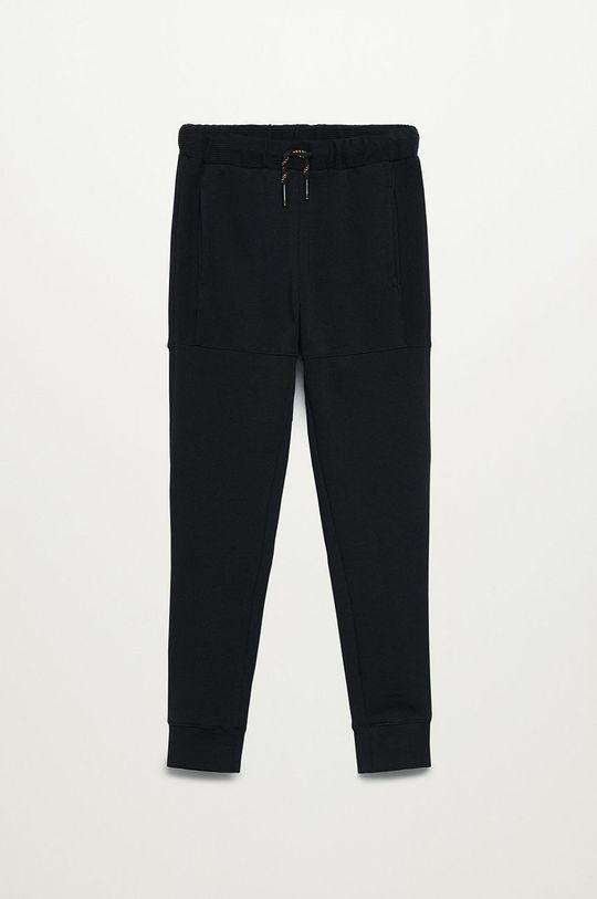 černá Mango Kids - Dětské kalhoty LEWIS8 Chlapecký