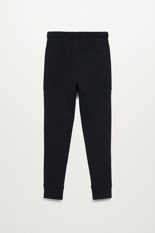 Mango Kids - Dětské kalhoty LEWIS8 černá