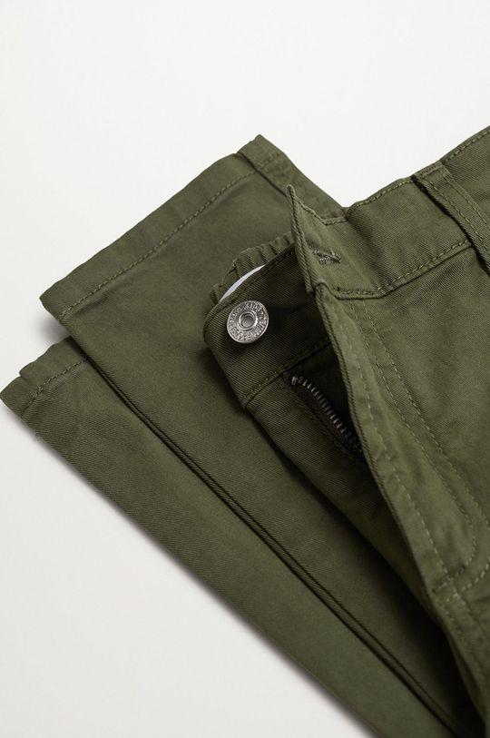 złoty brąz Mango Kids - Spodnie dziecięce Stuart 110-164 cm