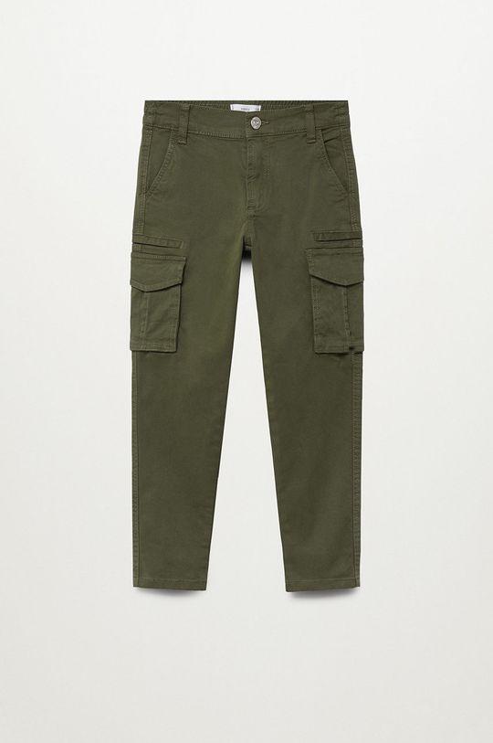 Mango Kids - Spodnie dziecięce Stuart 110-164 cm Chłopięcy