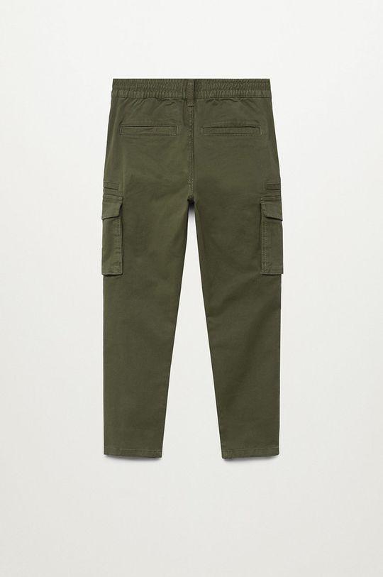 Mango Kids - Spodnie dziecięce Stuart 110-164 cm