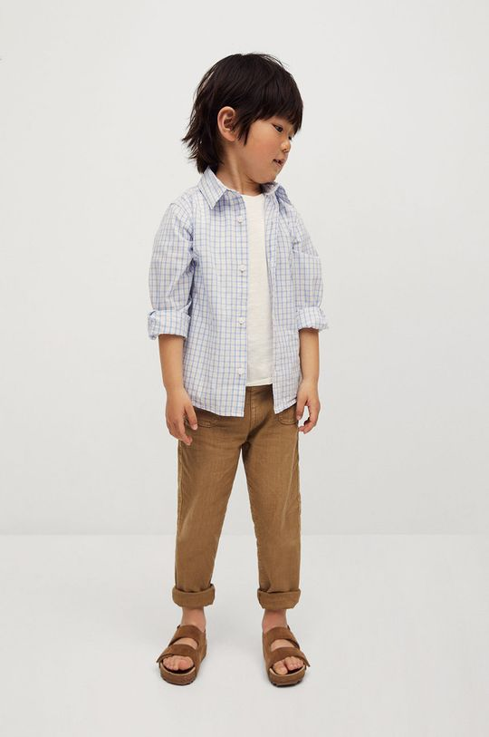 cielisty Mango Kids - Spodnie dziecięce Yucca 80-104 cm Chłopięcy