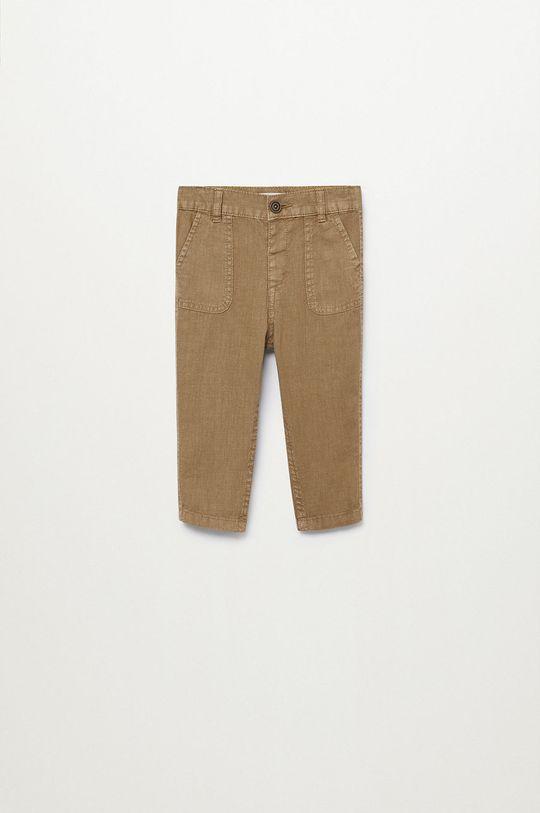 Mango Kids - Spodnie dziecięce Yucca 80-104 cm Chłopięcy