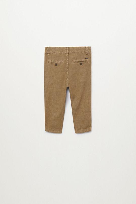 Mango Kids - Spodnie dziecięce Yucca 80-104 cm