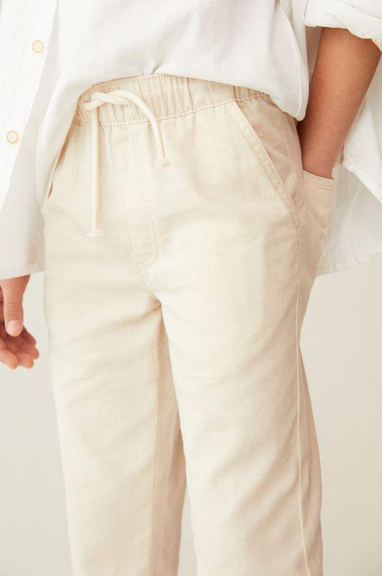 cielisty Mango Kids - Spodnie dziecięce Nico 110-164 cm