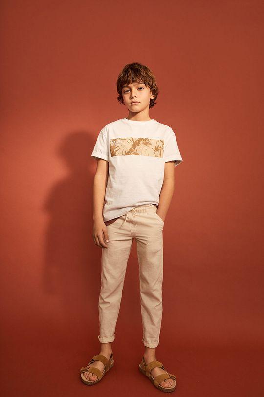 Mango Kids - Spodnie dziecięce Nico 110-164 cm Chłopięcy