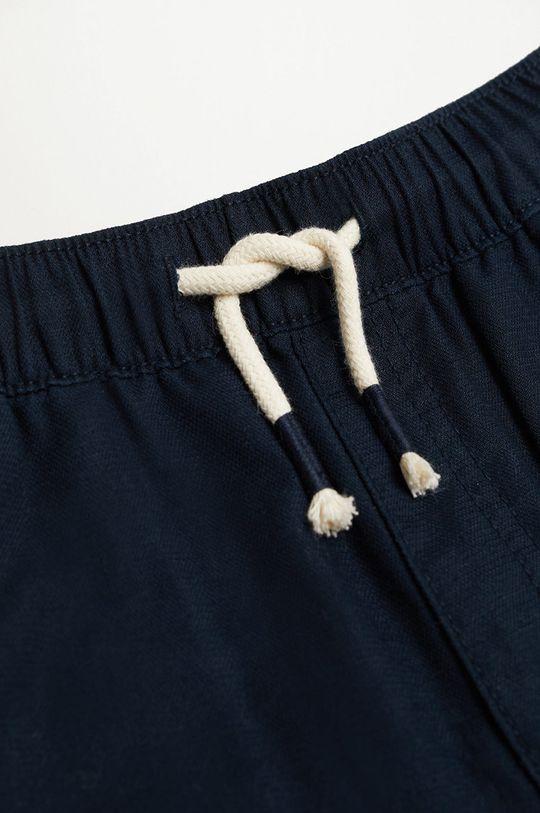 granatowy Mango Kids - Spodnie dziecięce Nico 110-164 cm