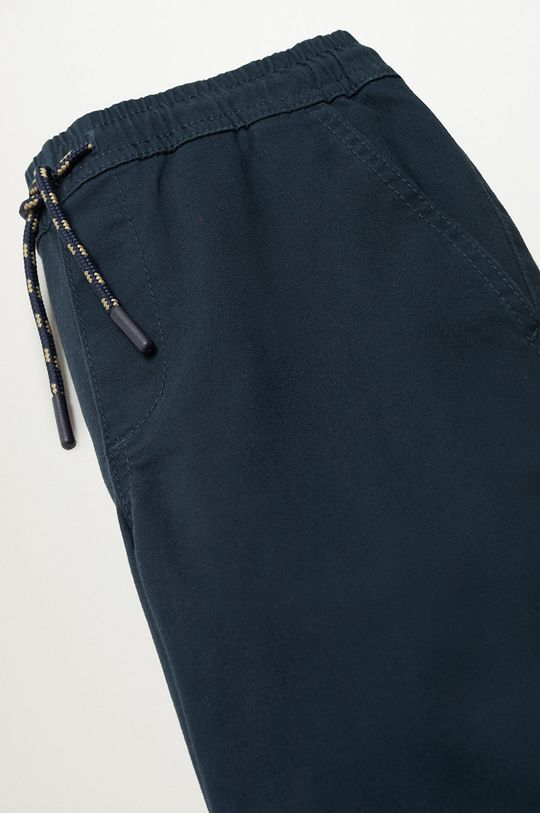 Mango Kids - Spodnie dziecięce Franky 110-164 cm granatowy