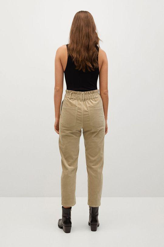 Mango - Kalhoty PEPE  Podšívka: 100% Polyester Hlavní materiál: 98% Bavlna, 2% Elastan