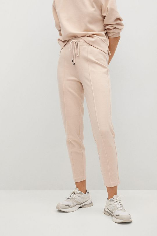 de grau Mango - Pantaloni PIQUE8 De femei