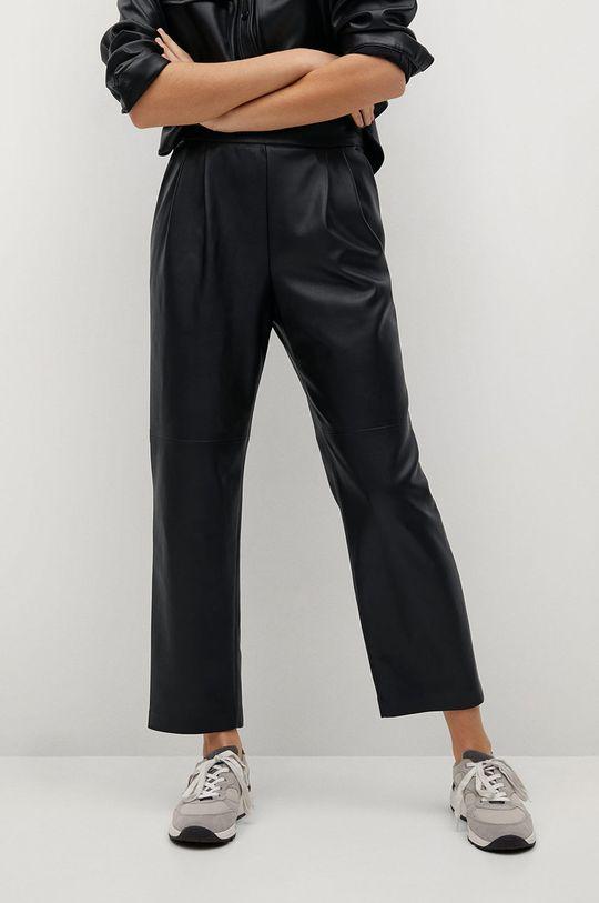 czarny Mango - Spodnie SIENA Damski