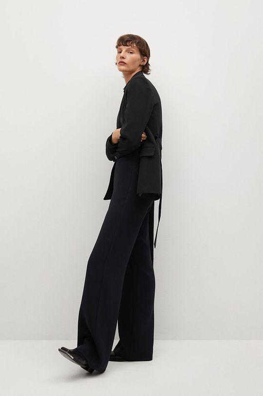 czarny Mango - Spodnie Palachin