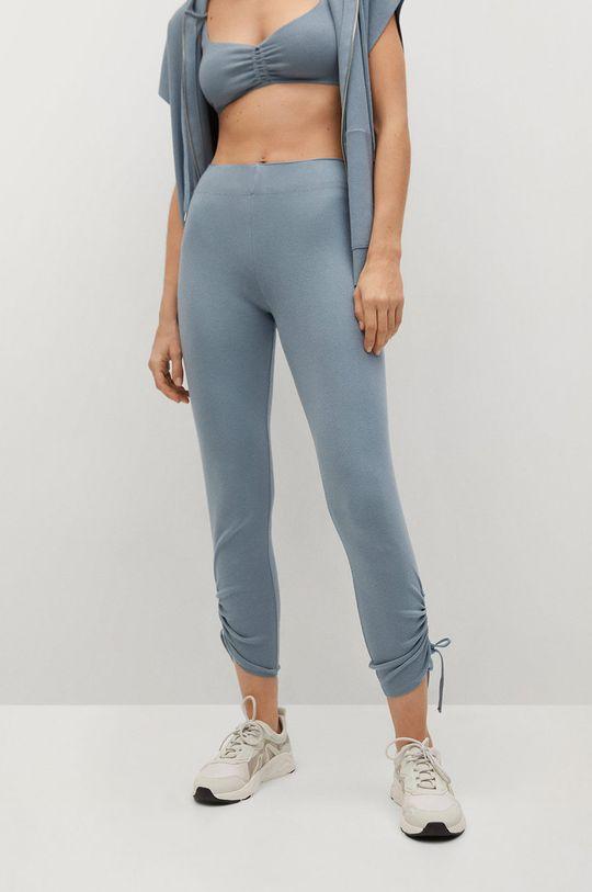 niebieski Mango - Spodnie Benji Damski