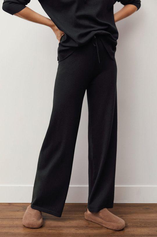 czarny Mango - Spodnie Acadia Damski