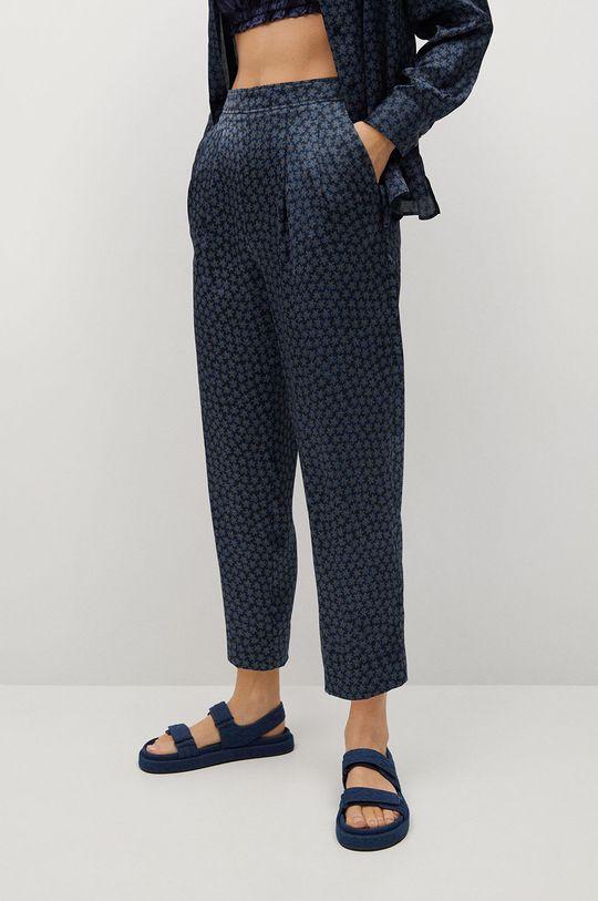 niebieski Mango - Spodnie Chiqui Damski