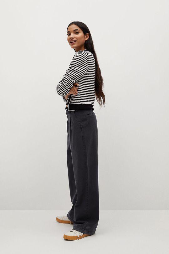 černá Mango - Kalhoty FILIPPO