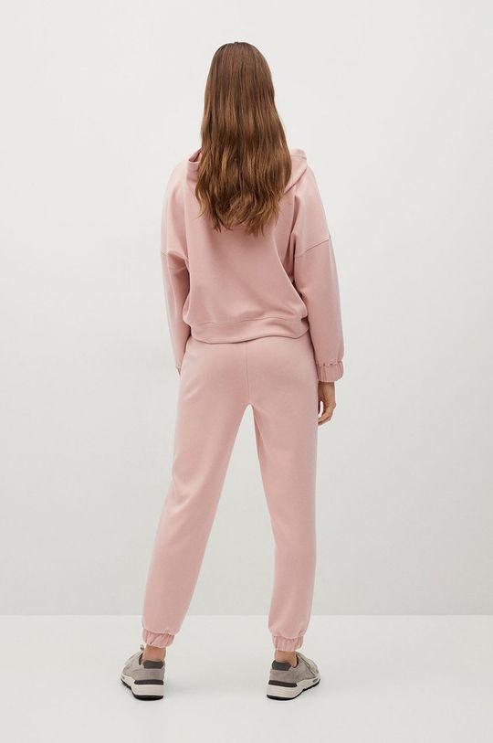 Mango - Spodnie MONICA różowy