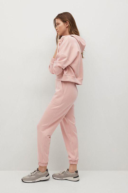 różowy Mango - Spodnie MONICA