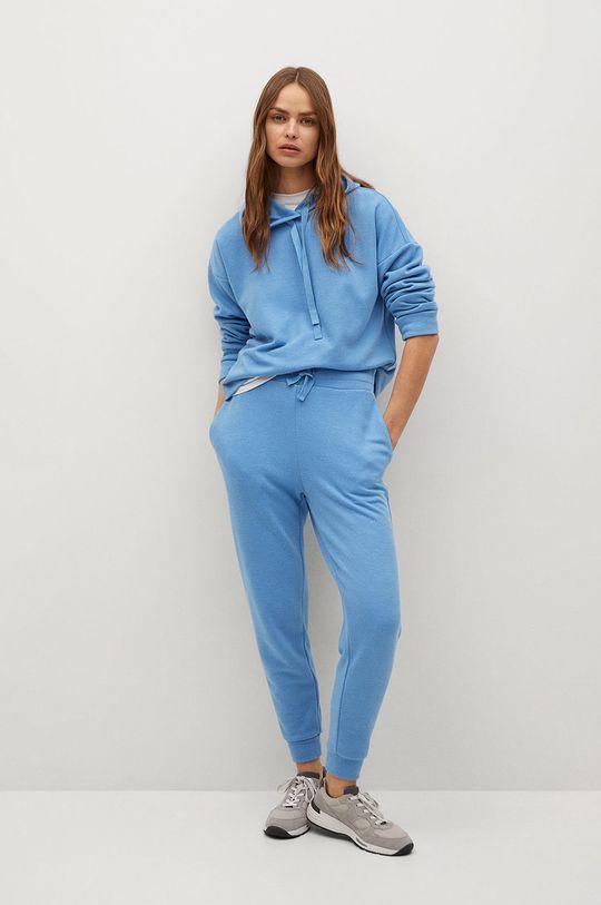 Mango - Spodnie Maxime8 blady niebieski