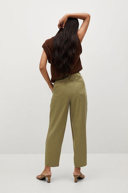 Mango - Nohavice Nature  Základná látka: 100% Lyocell Podšívka vrecka: 20% Bavlna, 80% Polyester