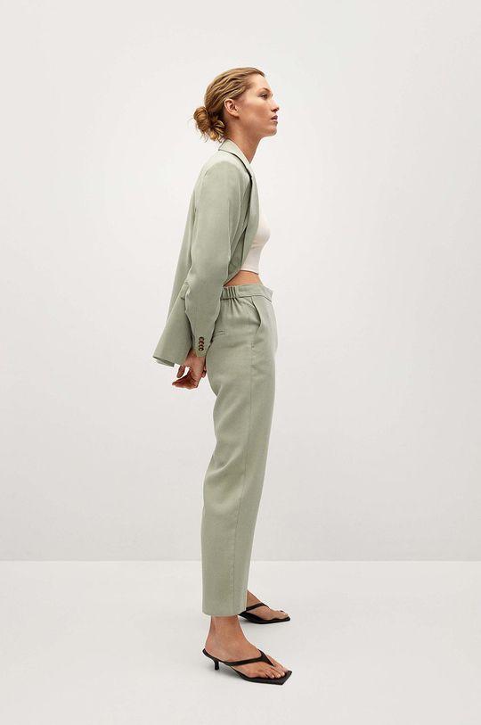 zielony Mango - Spodnie TEMPO