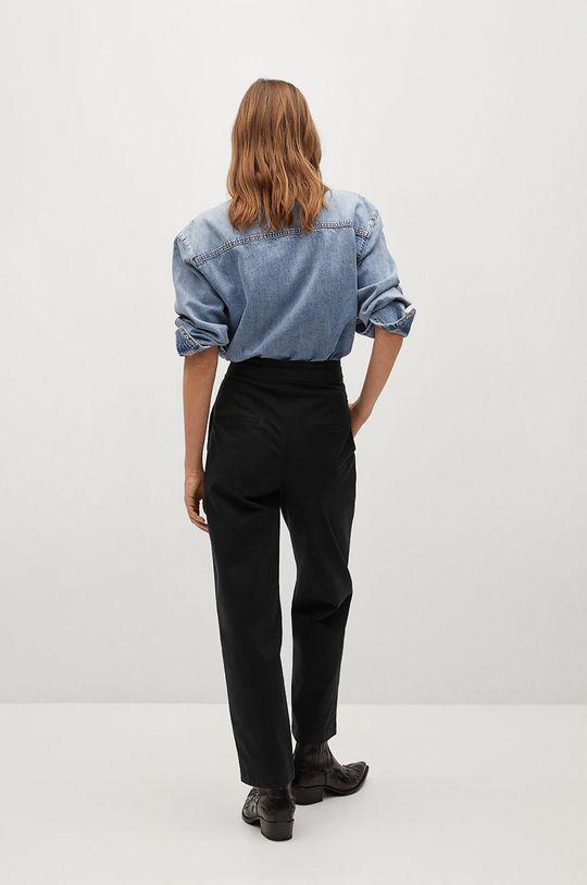 Mango - Kalhoty Slow  Hlavní materiál: 97% Bavlna, 3% Elastan Podšívka kapsy: 35% Bavlna, 65% Polyester