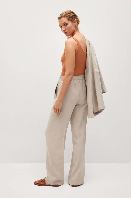 Mango - Kalhoty Kimo  Podšívka: 100% Polyester Hlavní materiál: 90% Modal, 10% Polyester