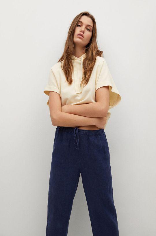 Mango - Spodnie Linen Damski