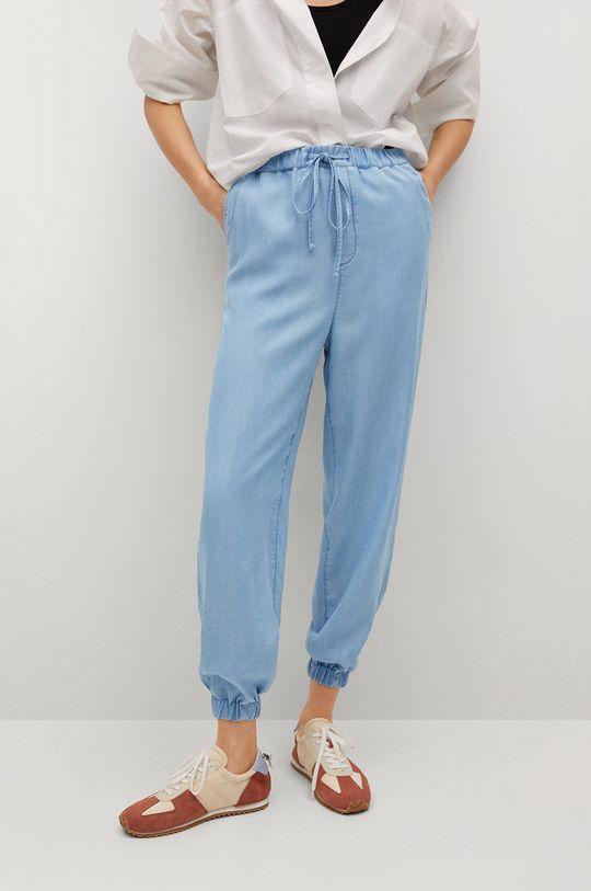 niebieski Mango - Spodnie NICKY Damski