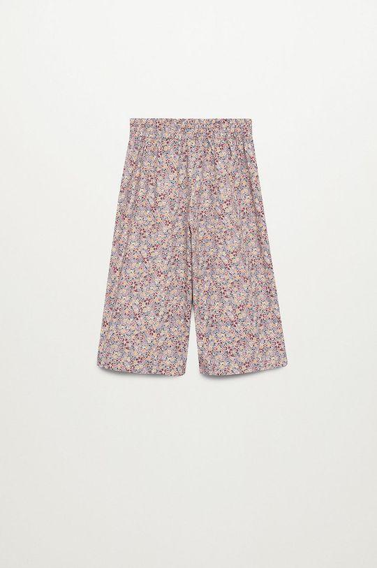 Mango Kids - Pantaloni copii GINA violet