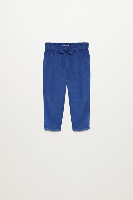 niebieski Mango Kids - Spodnie dziecięce PLIN Dziewczęcy