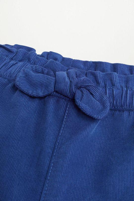 Mango Kids - Spodnie dziecięce PLIN 100 % Bawełna