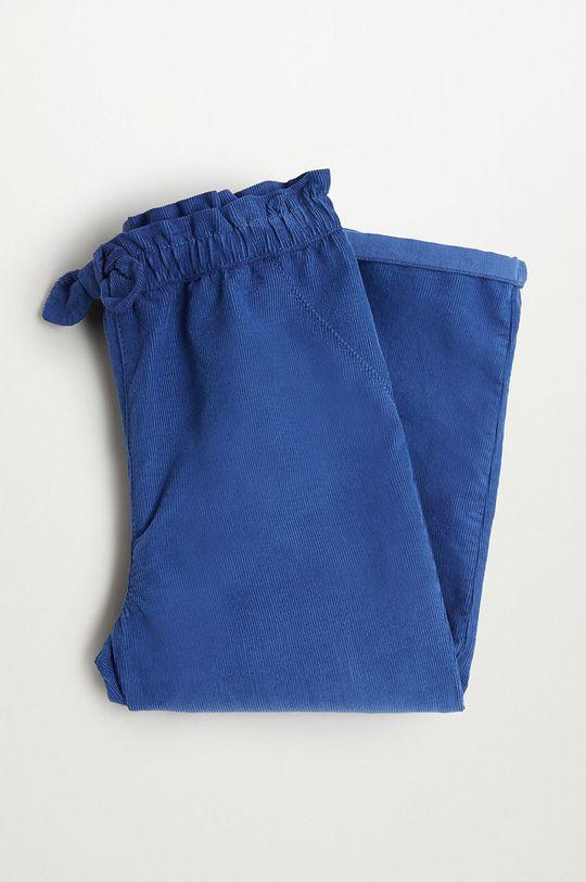 niebieski Mango Kids - Spodnie dziecięce PLIN