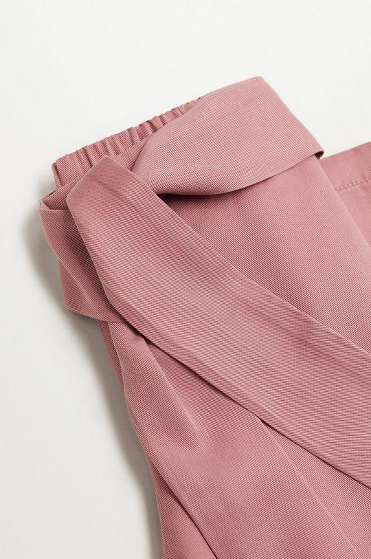 Mango Kids - Spodnie dziecięce Amelie 110-164 cm czerwony