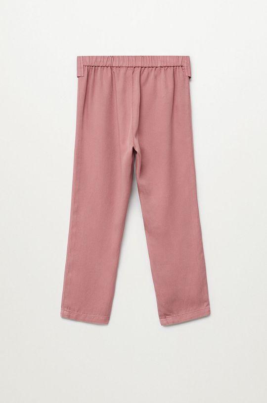 Mango Kids - Spodnie dziecięce Amelie 110-164 cm 100 % Lyocell