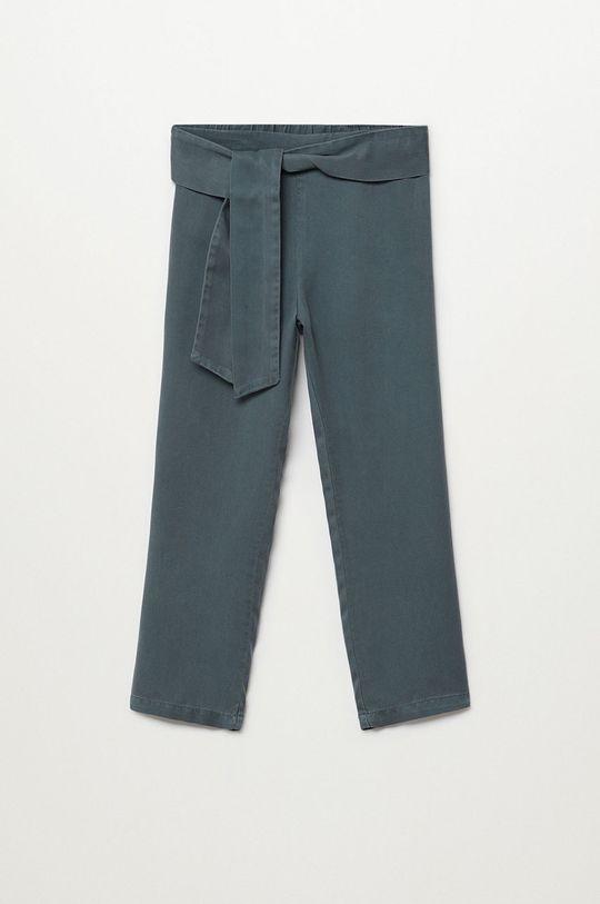 szary Mango Kids - Spodnie dziecięce Amelie 110-164 cm Dziewczęcy