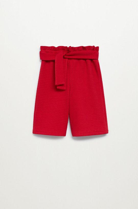 červená Mango Kids - Dětské kraťasy MARISA Dívčí