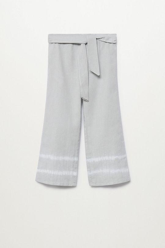 jasny szary Mango Kids - Spodnie dziecięce IRIS Dziewczęcy