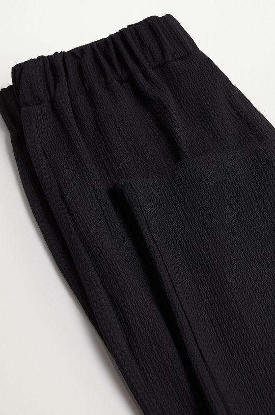 černá Mango Kids - Dětské kalhoty LEOPART