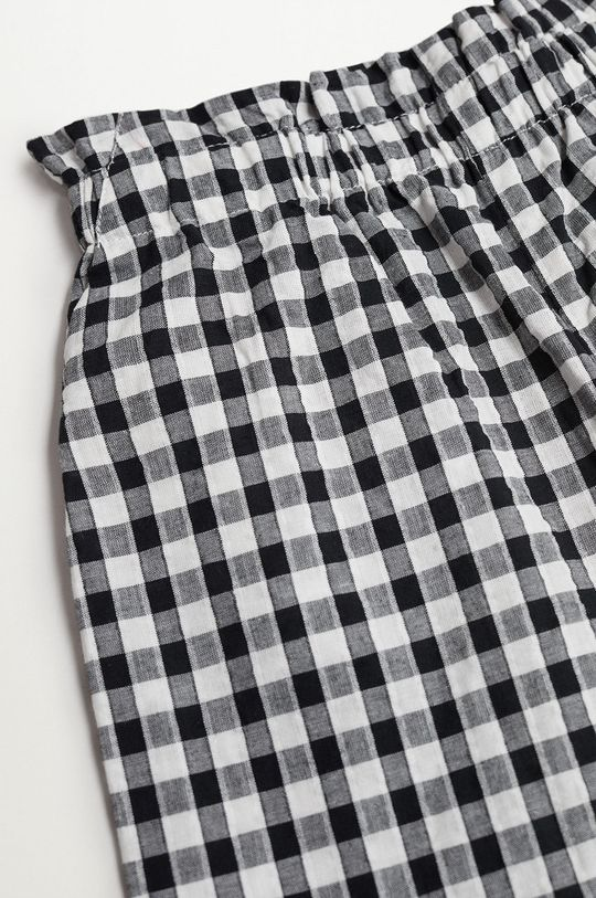 biały Mango Kids - Spodnie dziecięce Ellen 116-164 cm