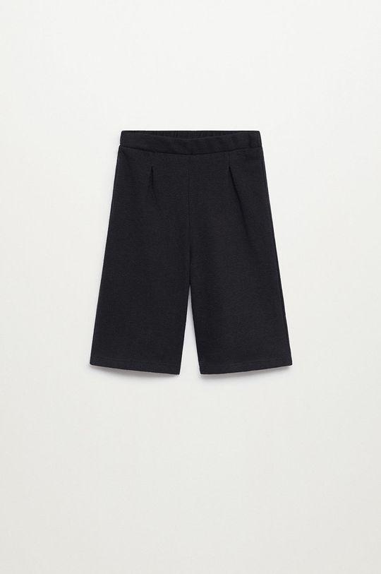 czarny Mango Kids - Spodnie dziecięce Marne8 80-104 cm Dziewczęcy
