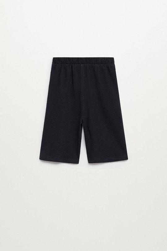 Mango Kids - Spodnie dziecięce Marne8 80-104 cm czarny
