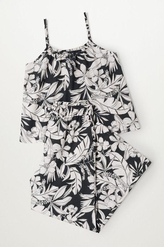 czarny Mango Kids - Spodnie dziecięce Mara 110-164 cm