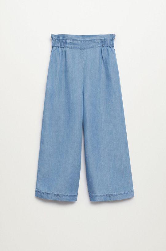 Mango Kids - Detské nohavice Emily 116-164 cm fialová