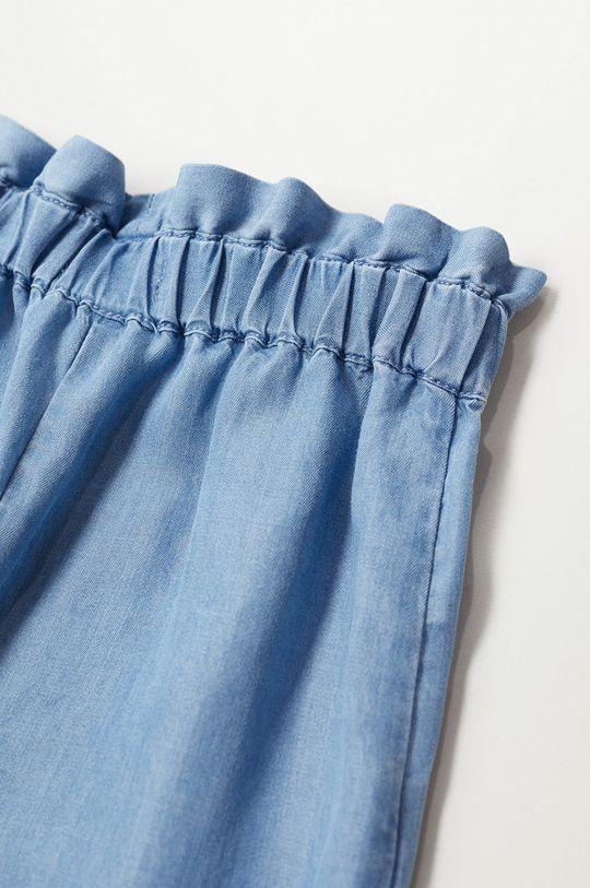 fialová Mango Kids - Detské nohavice Emily 116-164 cm
