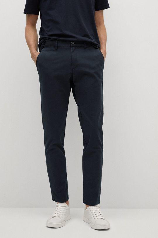 námořnická modř Mango Man - Kalhoty PRATO Pánský