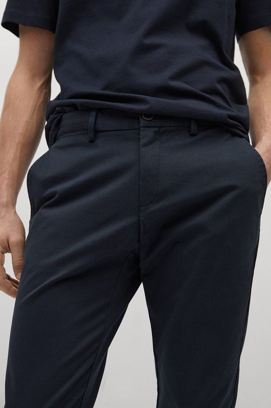 námořnická modř Mango Man - Kalhoty PRATO
