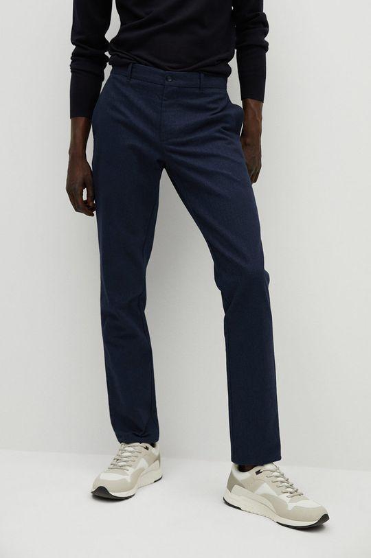 niebieski Mango Man - Spodnie BREST Męski
