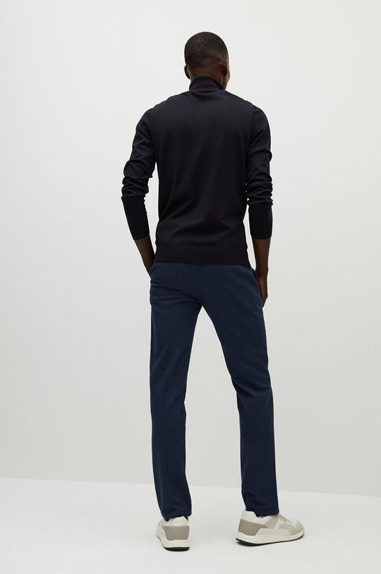 Mango Man - Spodnie BREST Materiał zasadniczy: 98 % Bawełna, 2 % Elastan, Podszewka kieszeni: 35 % Bawełna, 65 % Poliester