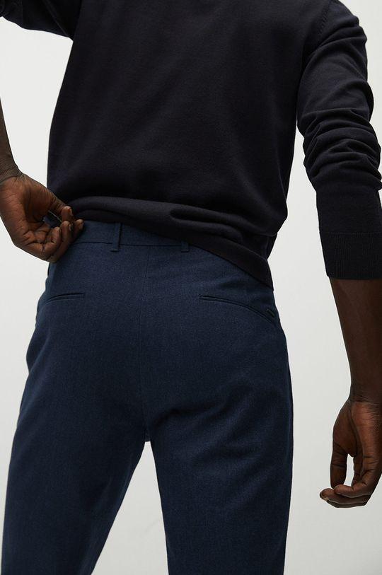niebieski Mango Man - Spodnie BREST